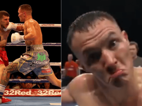 Josh Warrington tells fans to have 'passports ready' after second-round knockout of Sofiane Takoucht
