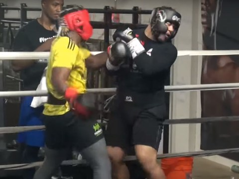 KSI knocks out sparring partner ahead of Logan Paul rematch
