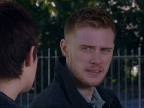 Who is Luke in Emmerdale and what does he want with Victoria?