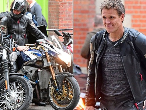 James Cracknell already shaken off Strictly sequins as he sports biking leathers after leaving show