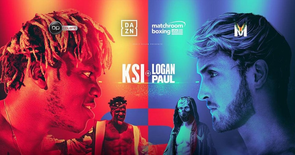KSI vs Logan Paul 2 rematch poster