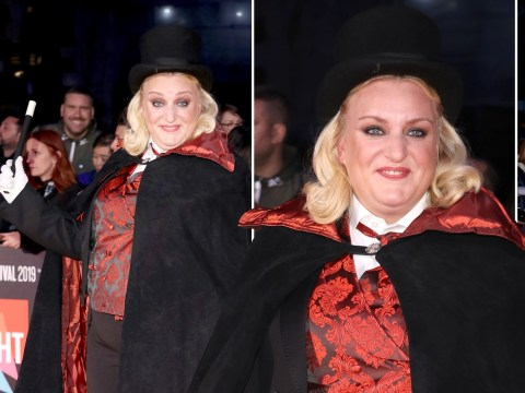 This Country's Daisy Cooper casts a spell over London Film Festival dressed as a magician