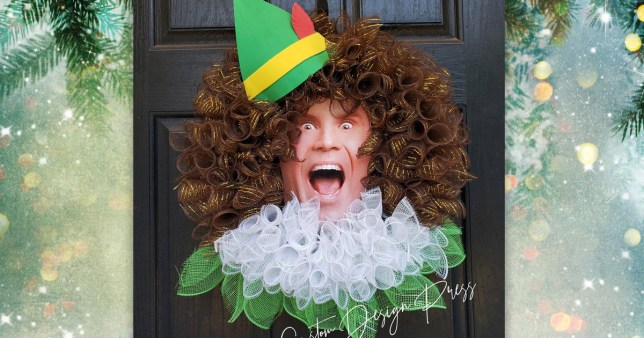 You Can Get A Buddy The Elf Christmas Wreath Metro News