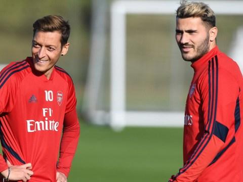 Man admits trying to rob Arsenal stars Mesut Ozil and Sead Kolasinac
