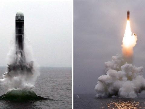 North Korea tests submarine-launched missile ahead of fresh US talks