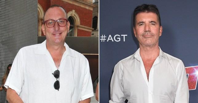 Ian Royce and Simon Cowell