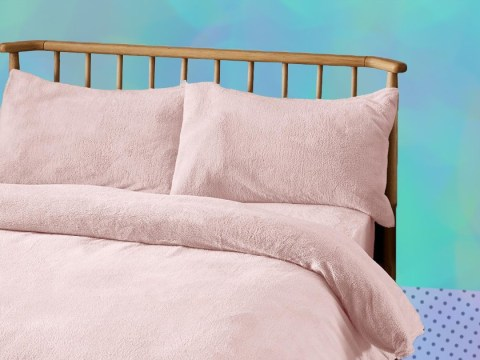 Dunelm is selling teddy bear fleece bedding that will make you want to stay in bed