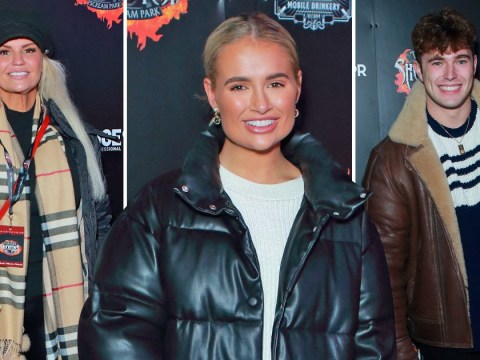 Love Island stars Curtis Pritchard and Molly-Mae Hague join Kerry Katona for spooks at Shocktober Fest