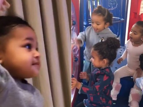 Kylie Jenner shares adorable videos of Stormi laughing with friends and learning to swim