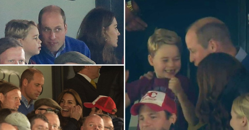 Royals enjoy day out at Football match
