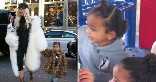Kim K's son has her embroidered on his jumper