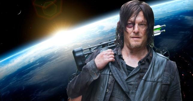 Daryl Dixon in space