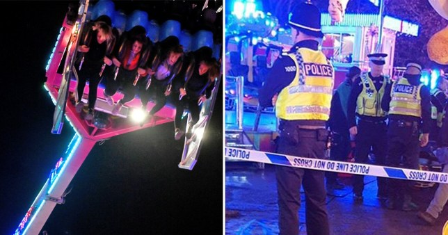 Hull fair closed after someone fell from ride