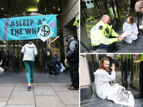Government staff told to 'stay away' as offices are blocked by Extinction Rebellion