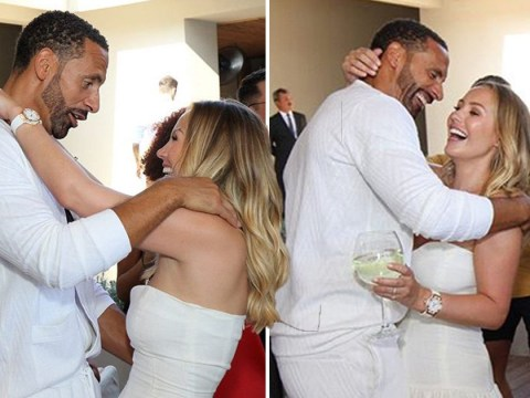 Newlyweds Kate and Rio Ferdinand look happy in love in new behind-the-scenes of lavish wedding