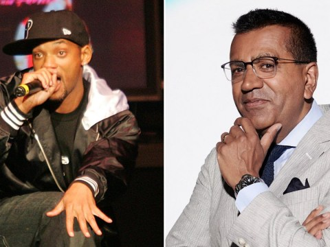 Celebrity X Factor's Martin Bashir was inspired by Will Smith to learn how to perform