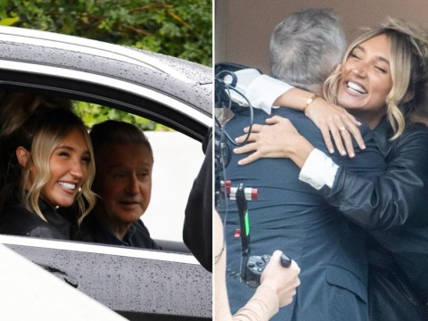 Megan McKenna welcomes Louis Walsh to her home hinting success on X Factor: Celebrity
