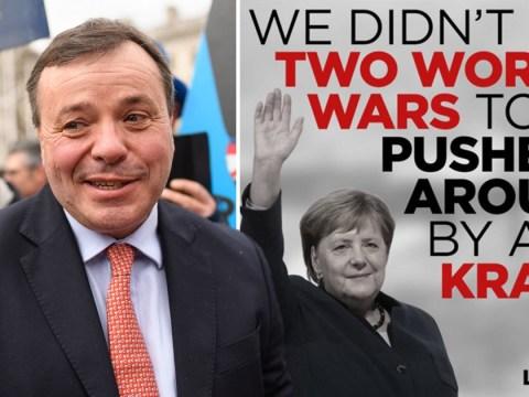 German chancellor called a 'kraut' by Leave.EU campaign group
