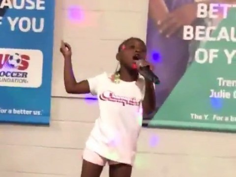 This seven-year-old year old rapper is killing the game