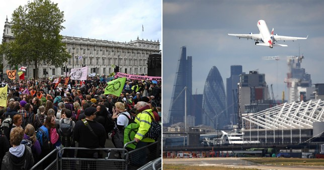 London City Airport is next target for Extinction Rebellion