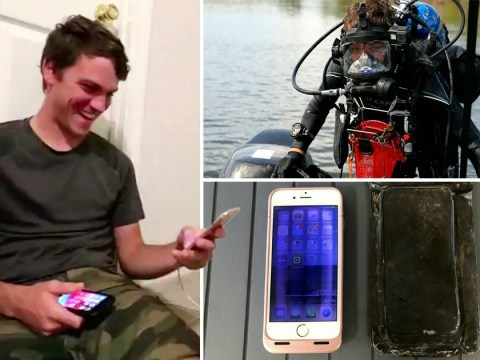 Woman reunited with lost iPhone that still works after 15 months in river