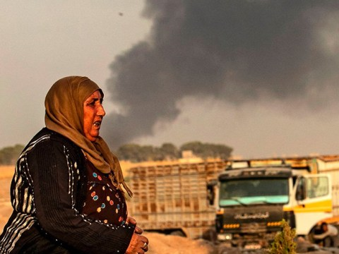 Turkey launches military offensive in Syria as warplanes bomb Kurdish fighters