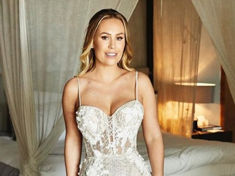 Kate Wright shares snaps of wedding 'dress of dreams' following lavish celebration to Rio Ferdinand