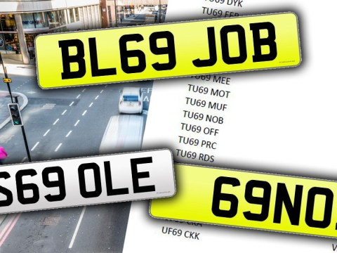 All these 69 number plates have been banned by the DVLA