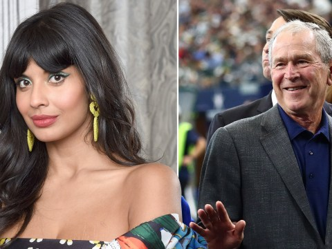 Jameela Jamil remains unapologetic for not knowing about George Bush's history