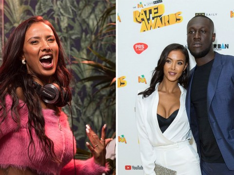 Maya Jama plays Stormzy tracks at Bacardi bash as she bops along after split