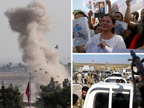 Baby among six killed during Syrian mortar fire on Turkish border towns