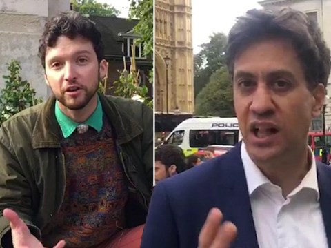 Ed Miliband defends Extinction Rebellion 'crusties' and backs mass tree planting