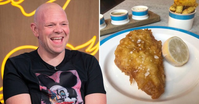Tom Kerridge defends charging £32.50 for fish and chips because he uses 'incredibly expensive potatoes'