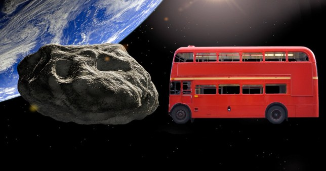 Asteroid the size of a bus could be doomed to hit Earth later this century, European Space Agency warns