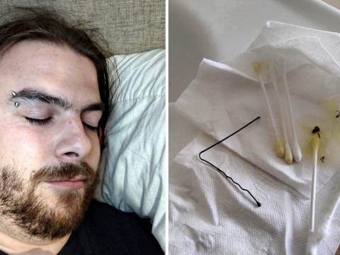 Arachnophobic web designer with 'vertigo' horrified to find a spider in his ear
