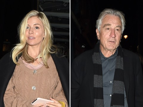 Sienna Miller forms unlikely friendship with Robert De Niro and Bruce Springsteen over dinner
