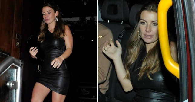 Worse for wear Coleen Rooney leaves club after 4am