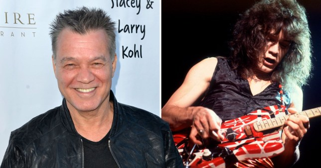 Eddie Van Halen 'secretly battling throat cancer for five years which he thinks is from guitar pick'