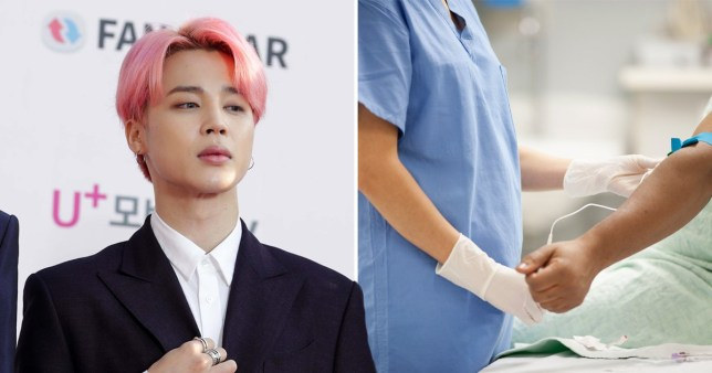 Fans donate blood in honour of Jimin's birthday