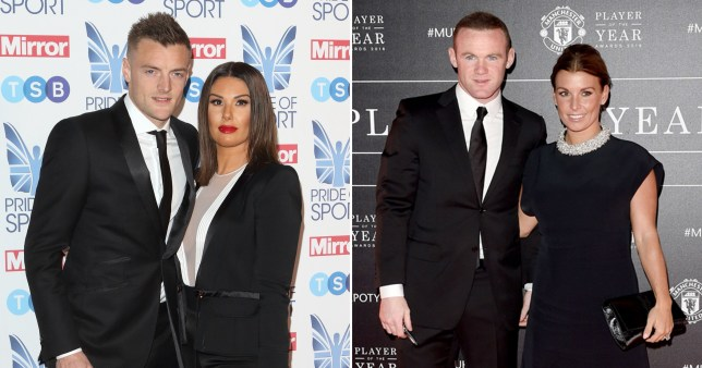 Jamie and Rebekah Vardy, Wayne and Coleen Rooney