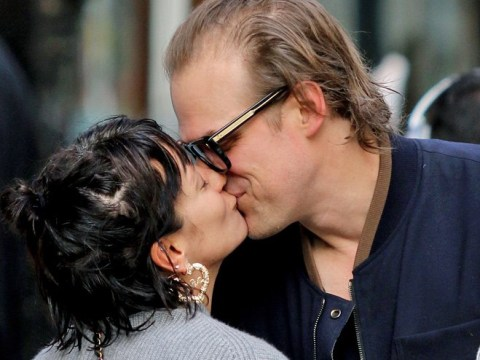 How long have Lily Allen and David Harbour been dating as they go public with their romance?