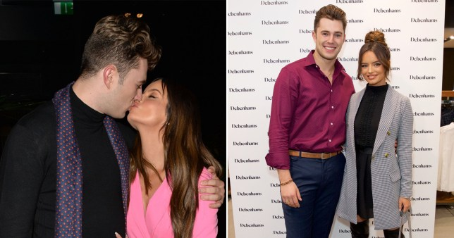 Love Island's Maura Higgins and Curtis Pritchard reveal they're officially a couple