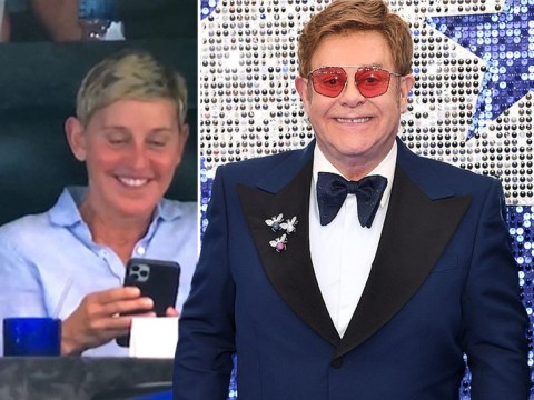 Elton John 'admires' Ellen DeGeneres for controversially hanging out with George W Bush