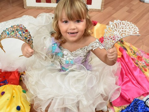 Mum lives on £30 a week so she can spend £7,500 on toddler's pageants