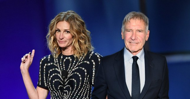 Julia Roberts and Harrison Ford lead long list of celebs who conquered public speaking fear