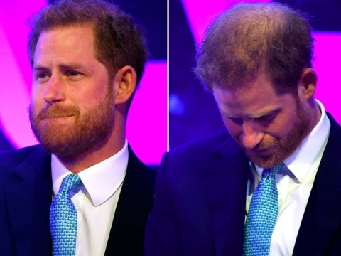 Prince Harry breaks down as he recalls Meghan's pregnancy with son Archie