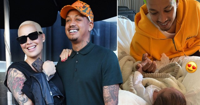 Amber Rose shares adorable snaps of baby boy Slash bonding with his father Alexander 'AE' Edwards