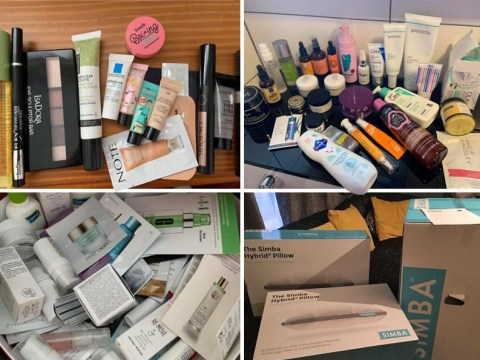 Mum shares how she got £1,000 worth of freebies