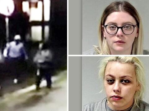 Attacker filmed mimicking disabled homeless woman before assaulting her
