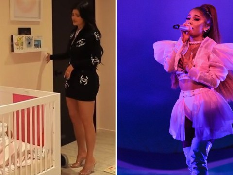 Ariana Grande wants to sample Kylie Jenner singing Rise and Shine to Stormi and we absolutely need it